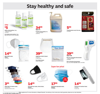 Staples - deals are valid from 08/09/20 to 08/15/20 - page 16.