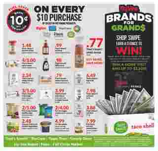 Hy-Vee - deals are valid from 10/02/19 to 10/08/19 - page 11.