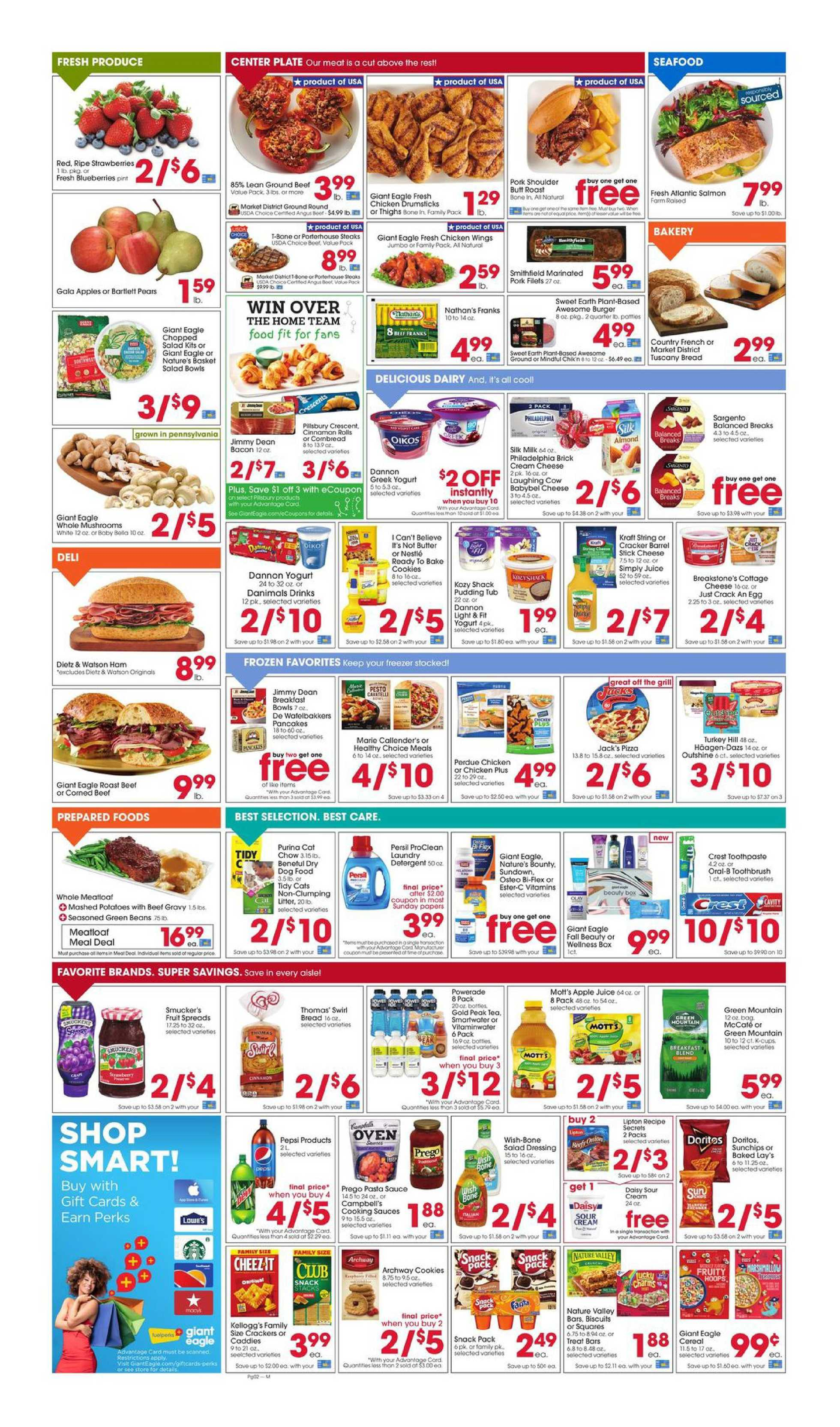 Giant Eagle - deals are valid from 09/17/20 to 09/23/20 - page 2.