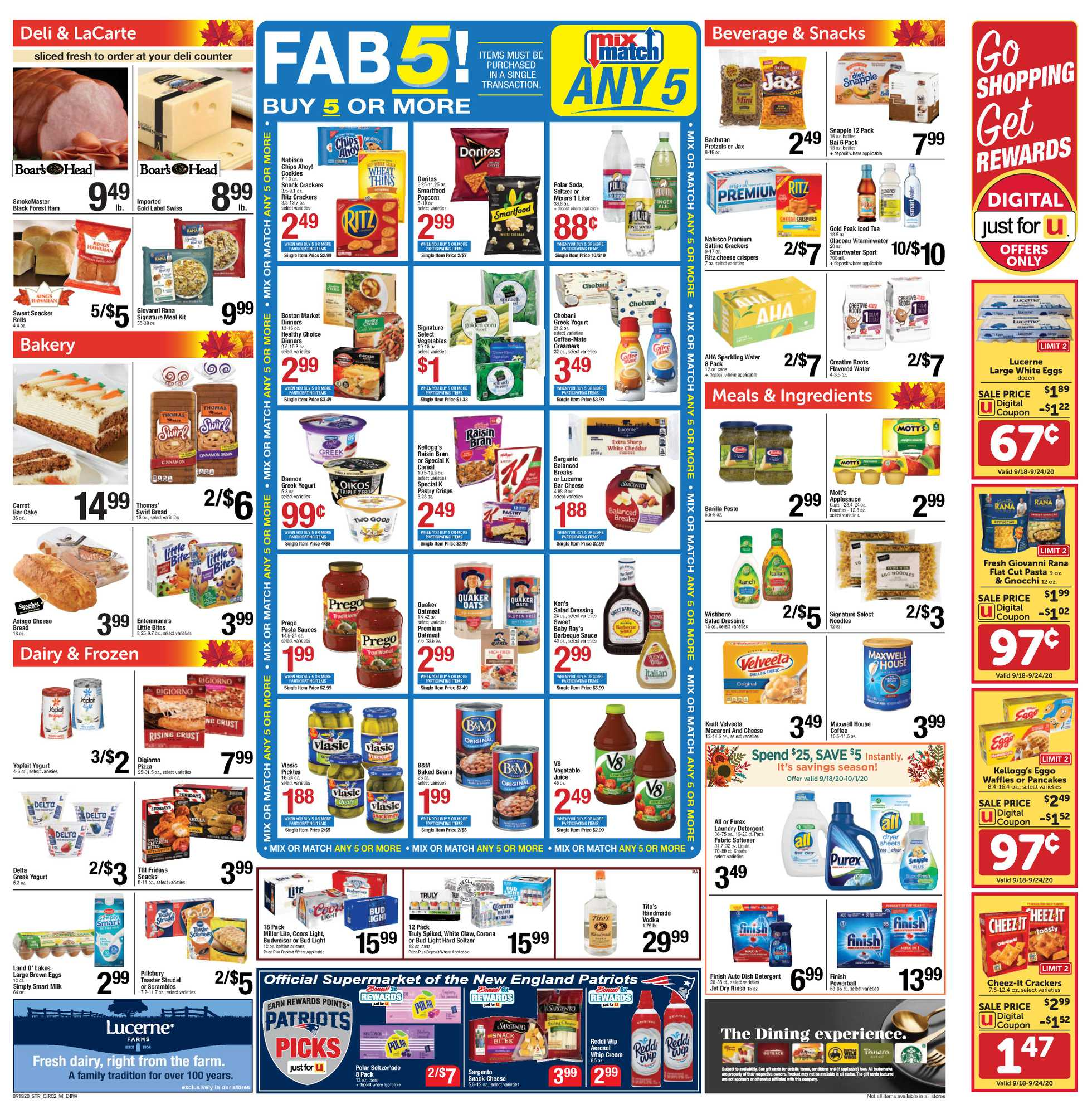 Star Market - deals are valid from 09/18/20 to 09/24/20 - page 2.
