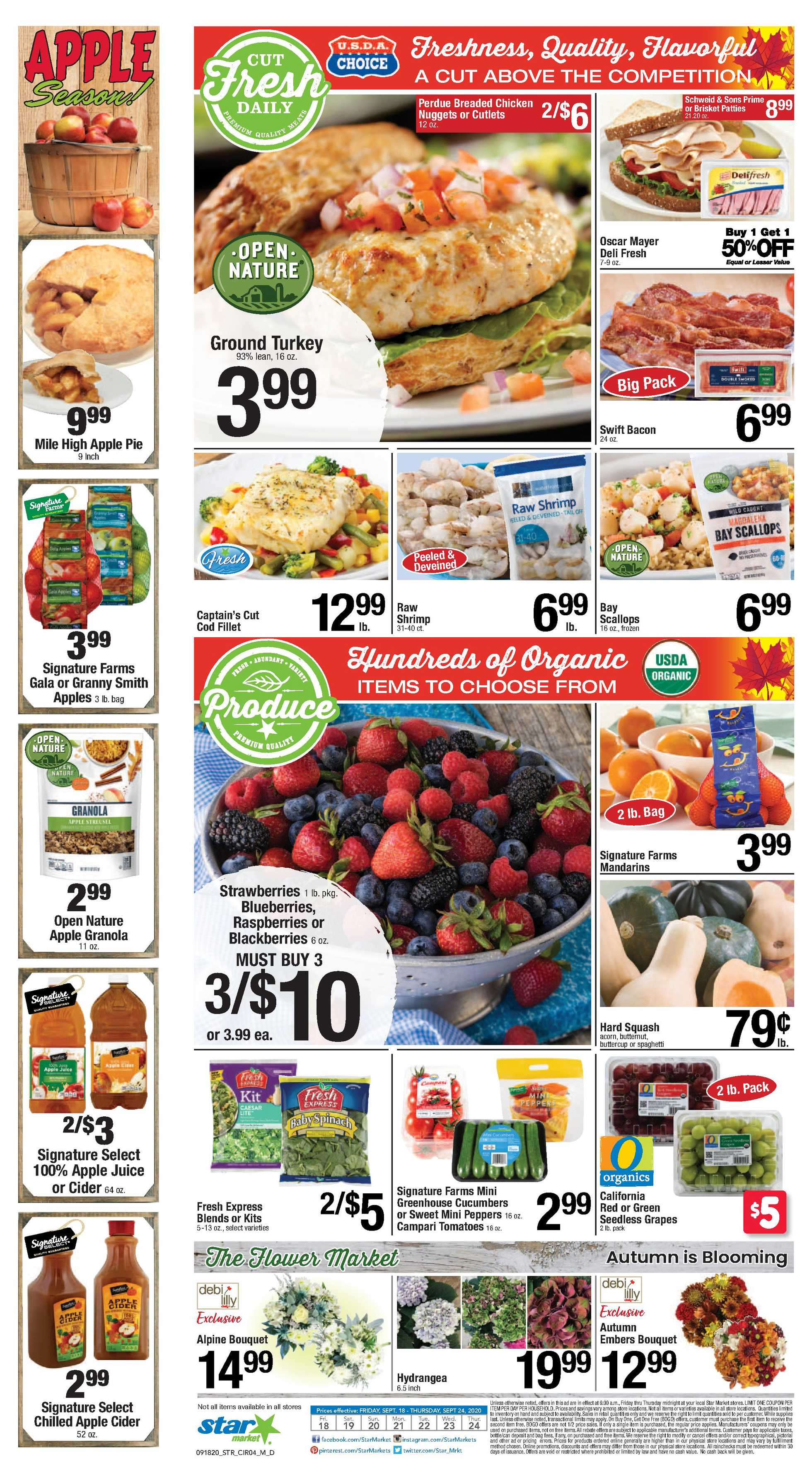 Star Market - deals are valid from 09/18/20 to 09/24/20 - page 3.