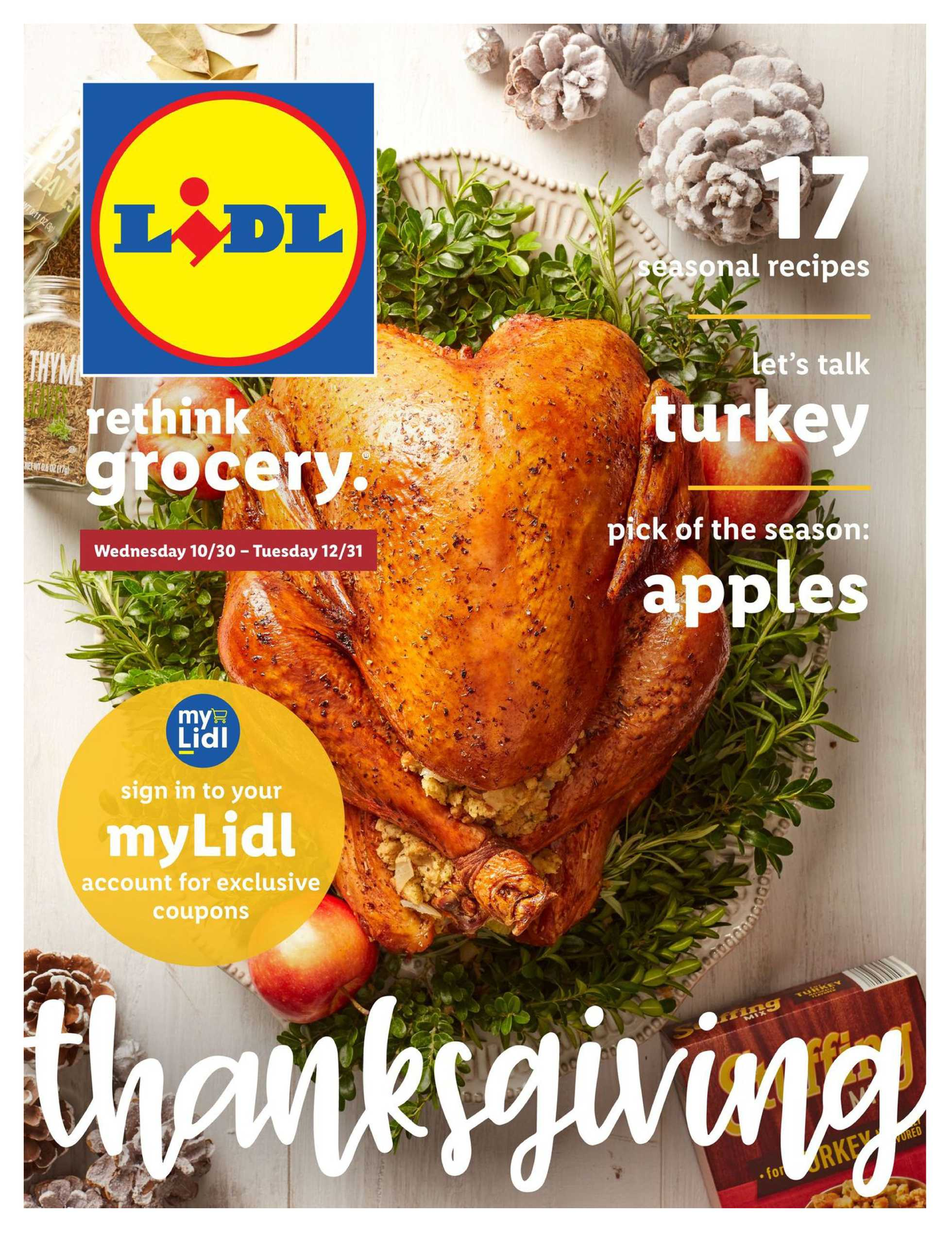 Lidl - deals are valid from 10/30/19 to 12/31/19 - page 1.