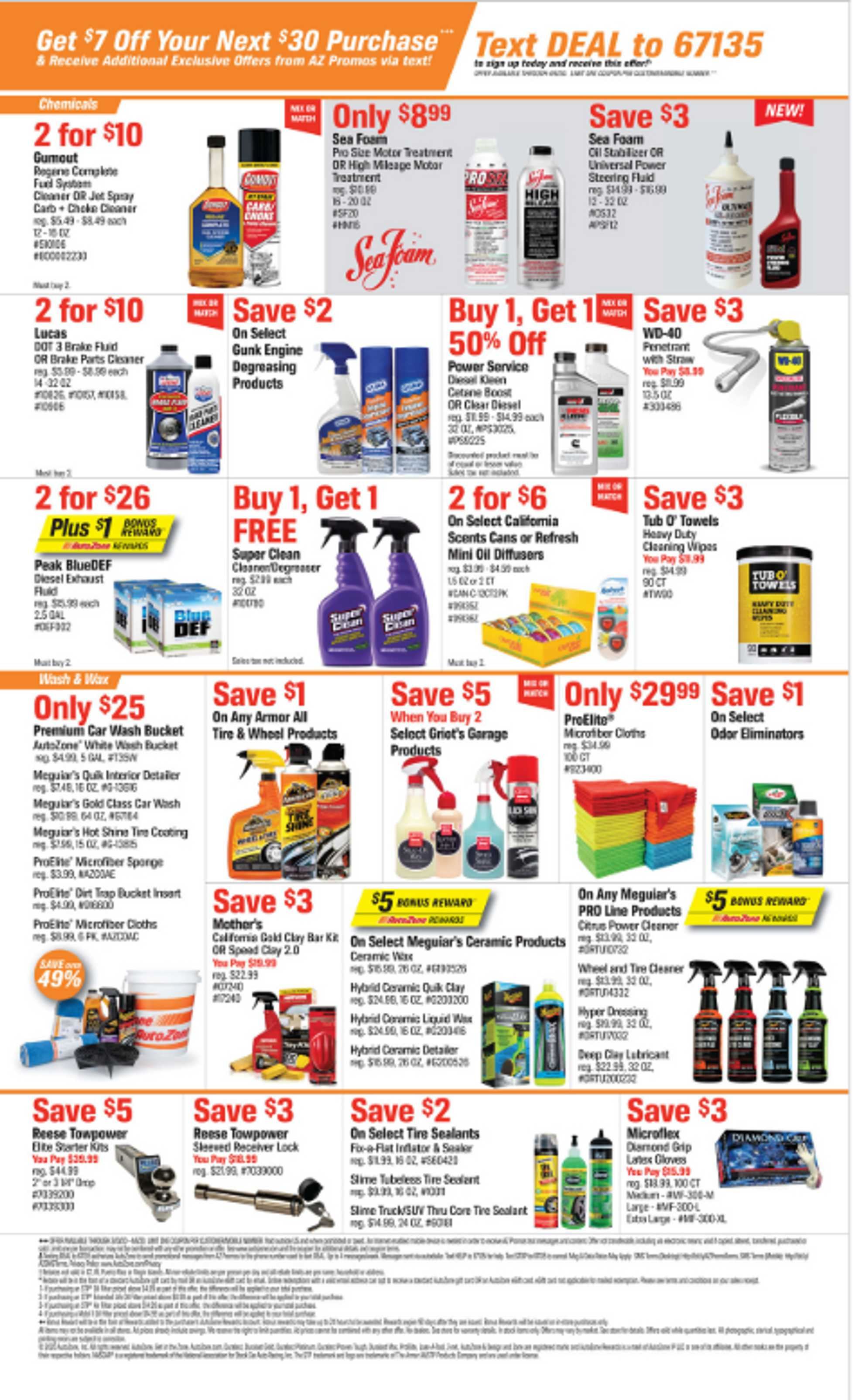 AutoZone - deals are valid from 03/10/20 to 04/06/20 - page 2.