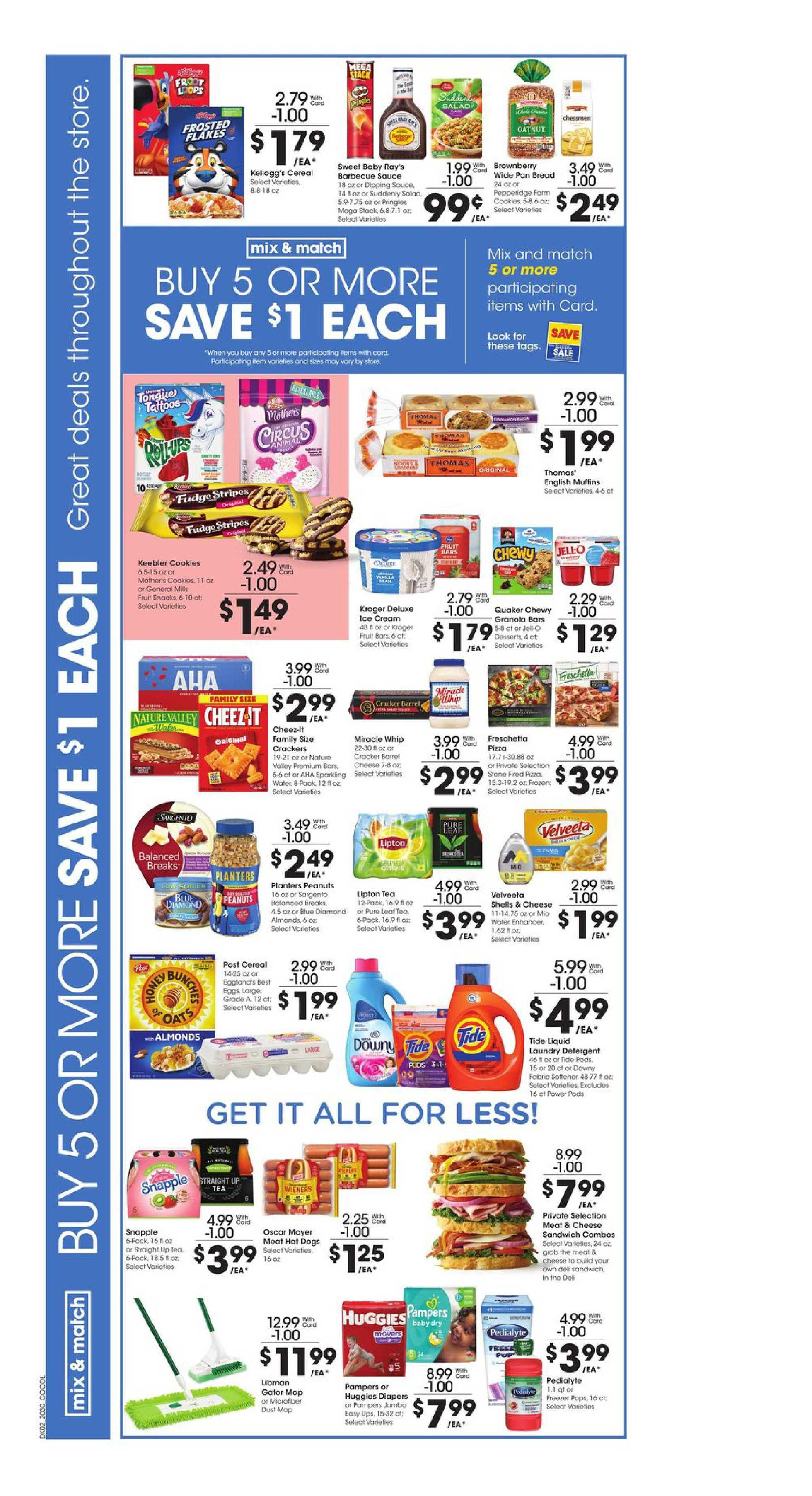 Kroger - deals are valid from 08/26/20 to 09/01/20 - page 3.