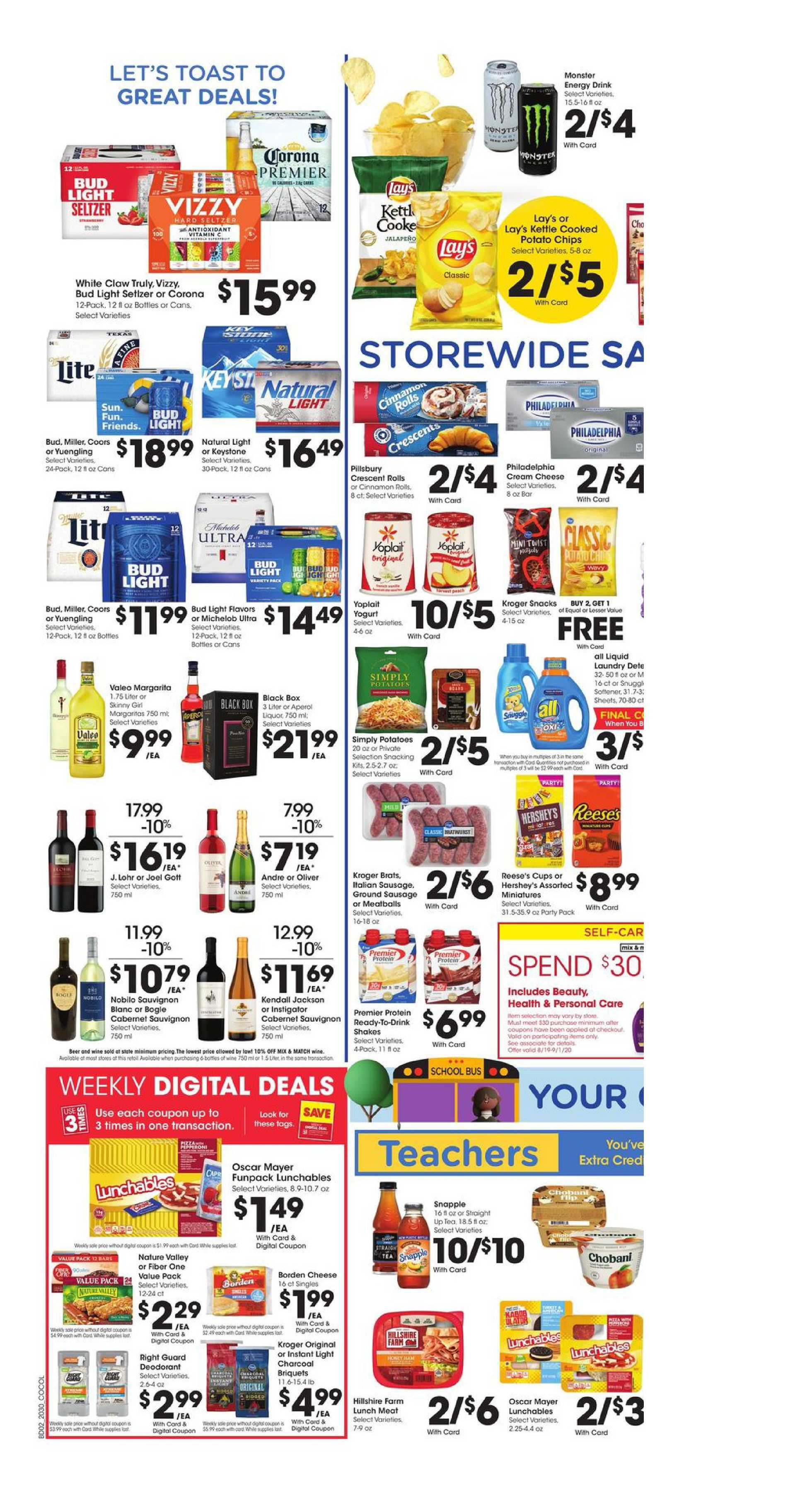 Kroger - deals are valid from 08/26/20 to 09/01/20 - page 4.