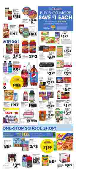 Kroger - deals are valid from 08/26/20 to 09/01/20 - page 5.