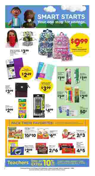 Kroger - deals are valid from 08/26/20 to 09/01/20 - page 7.