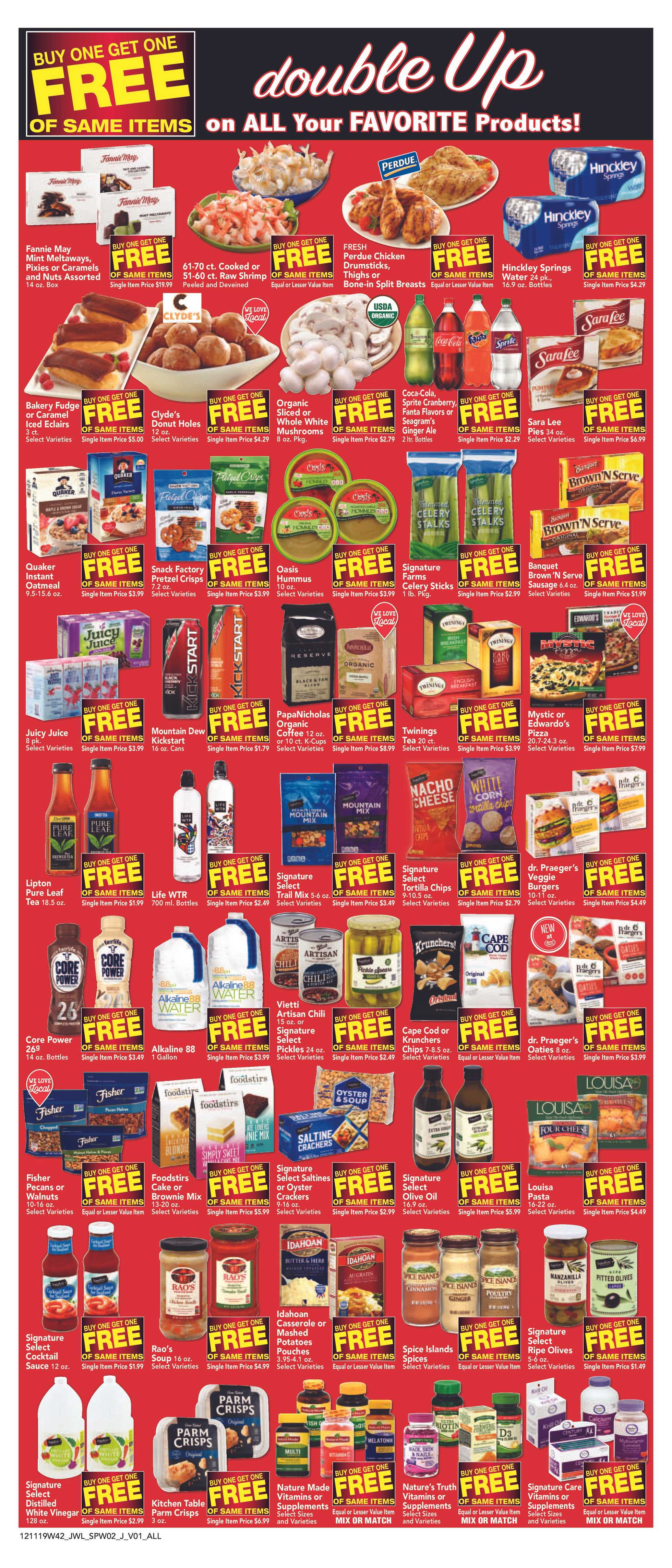 Jewel Osco - deals are valid from 12/11/19 to 12/17/19 - page 3.