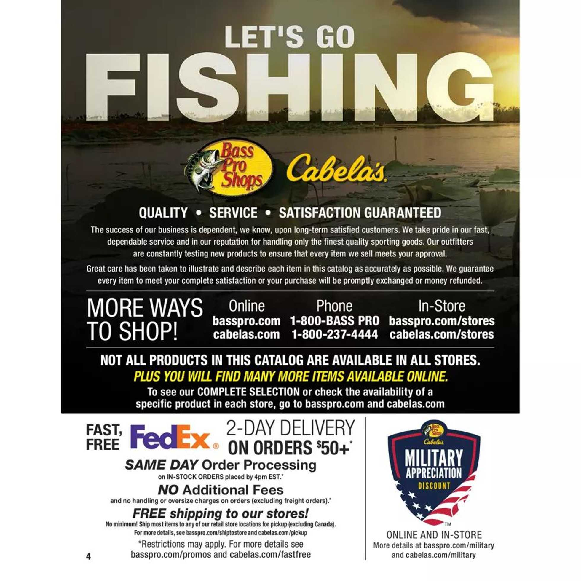 Bass Pro Shops - deals are valid from 01/01/20 to 01/01/21 - page 4.