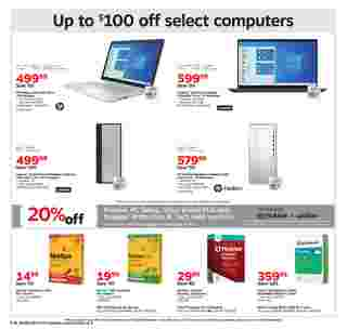Staples - deals are valid from 09/20/20 to 09/26/20 - page 7.