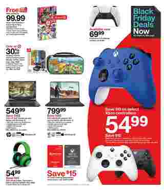 Target - deals are valid from 11/22/20 to 11/28/20 - page 14.