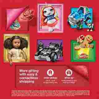 Target - deals are valid from 10/25/20 to 11/21/20 - page 31.