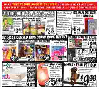 Ollie's Bargain Outlet - deals are valid from 08/29/19 to 09/05/19 - page 6.