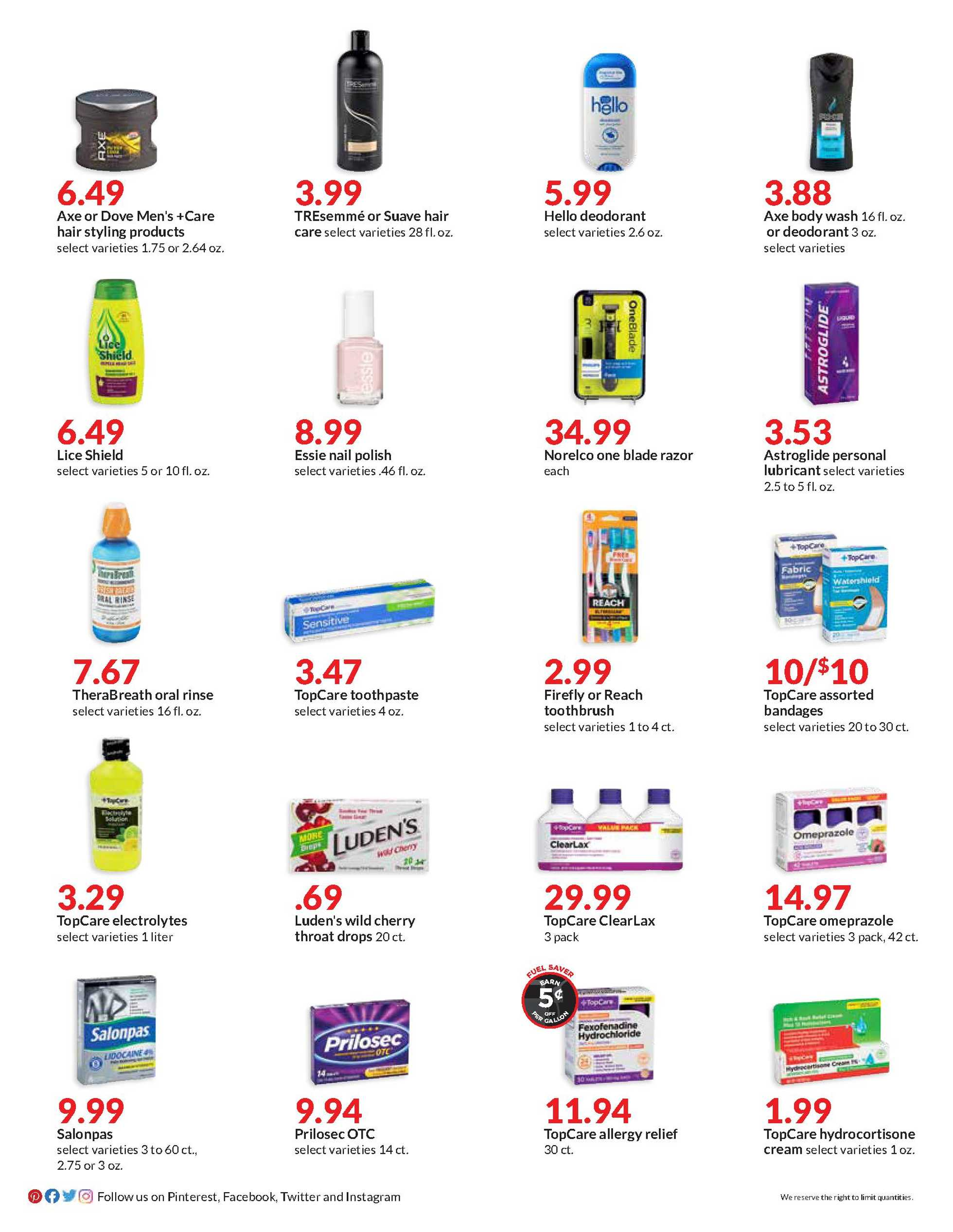 Hy-Vee - deals are valid from 08/01/20 to 08/31/20 - page 2.