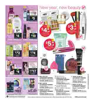 CVS - deals are valid from 01/12/20 to 01/18/20 - page 14.
