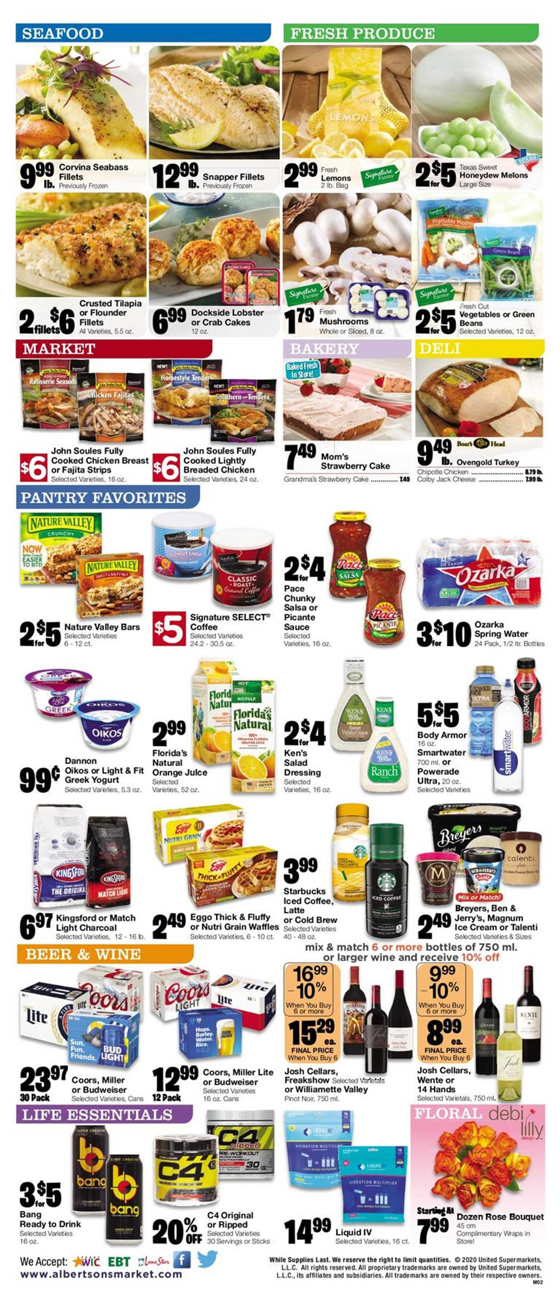 Albertsons - deals are valid from 05/27/20 to 06/02/20 - page 2.