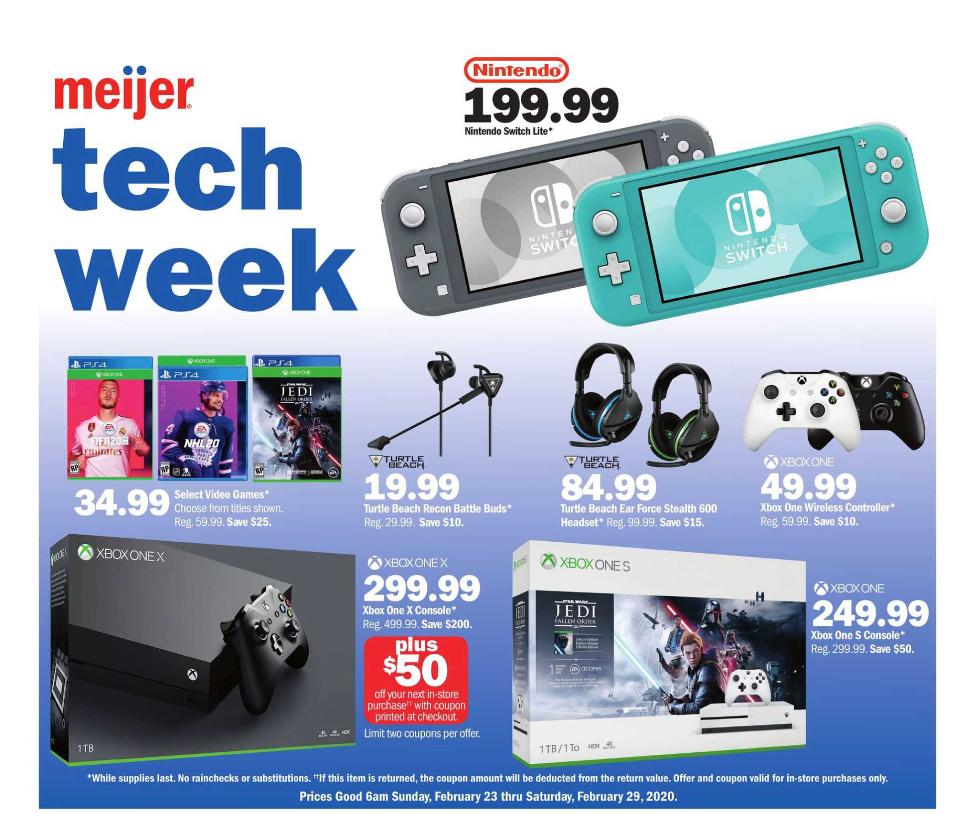 Meijer - promo starting from 02/23/20 to 02/29/20 - page 1.