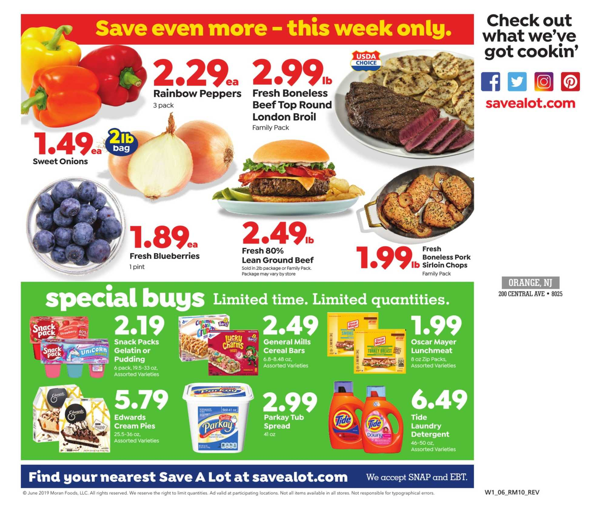 Save-A-Lot - deals are valid from 05/26/19 to 06/04/19 - page 3.