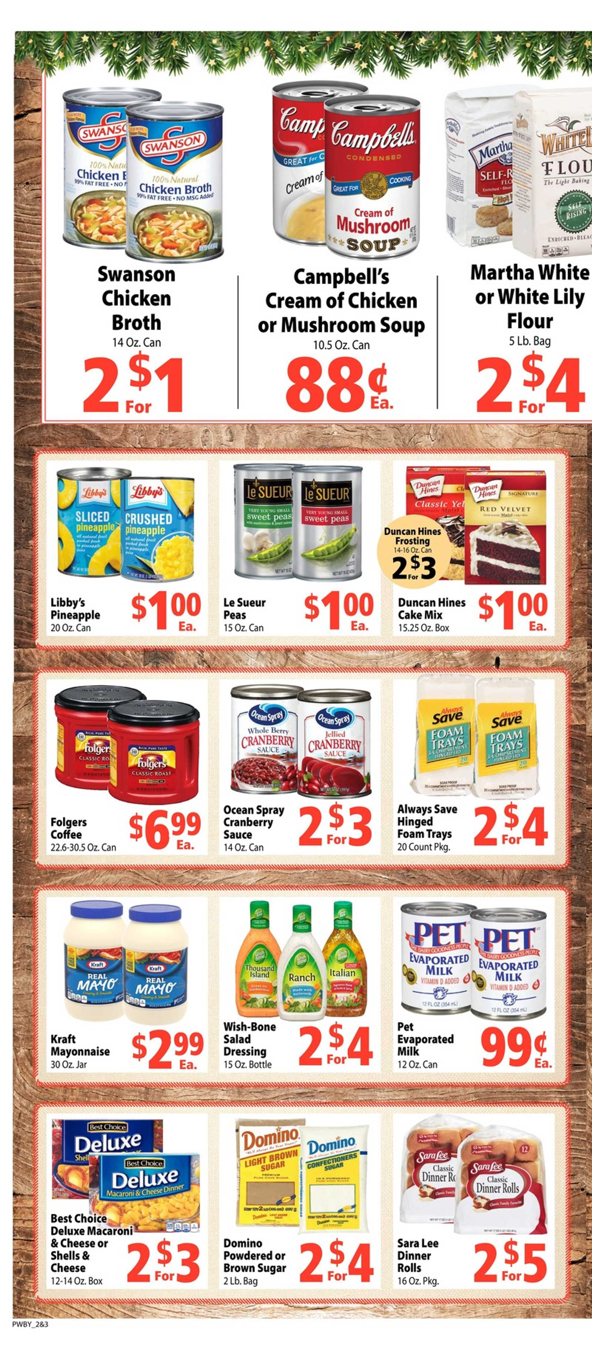 Piggly Wiggly - deals are valid from 12/18/19 to 12/24/19 - page 2.