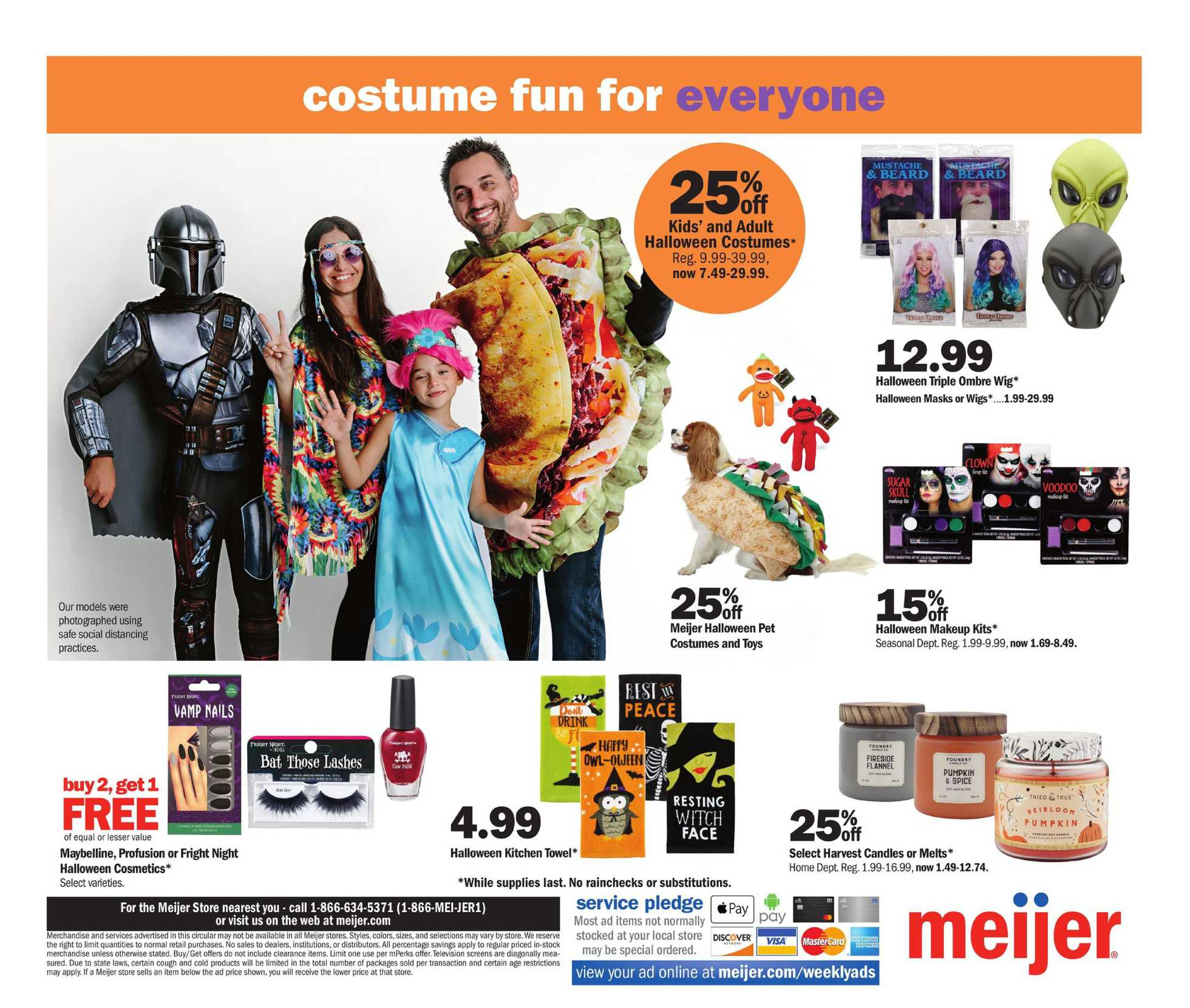 Meijer - deals are valid from 10/18/20 to 10/24/20 - page 4.