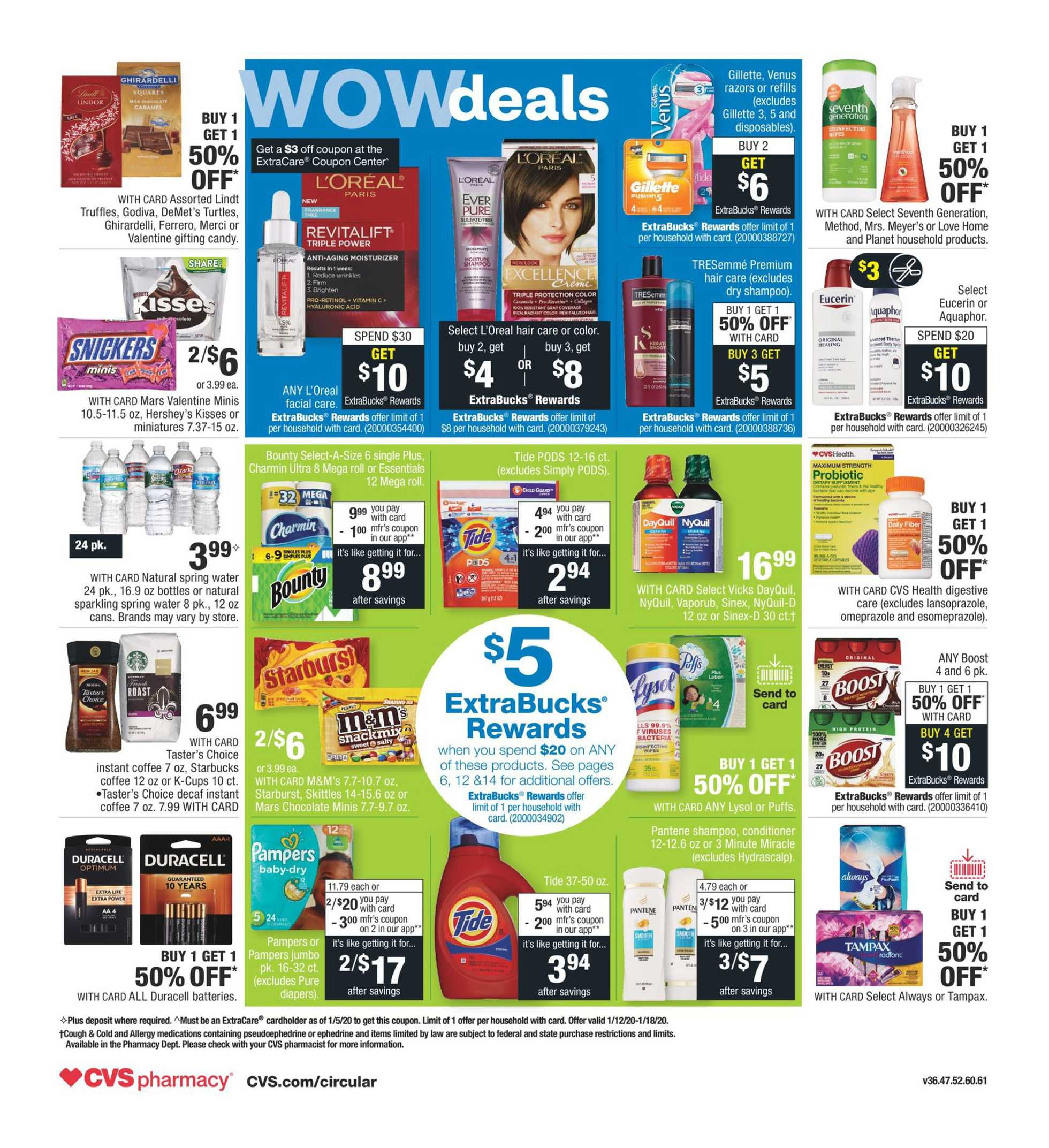 CVS - deals are valid from 01/12/20 to 01/18/20 - page 2.