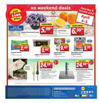 Lidl - deals are valid from 04/01/20 to 04/07/20 - page 24.