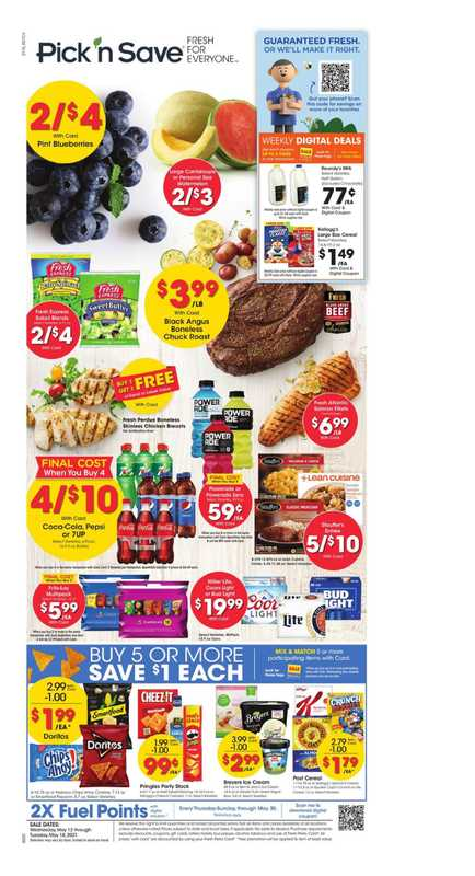 Pick n Save - deals are valid from 05/12/21 to 05/18/21 - page 1.