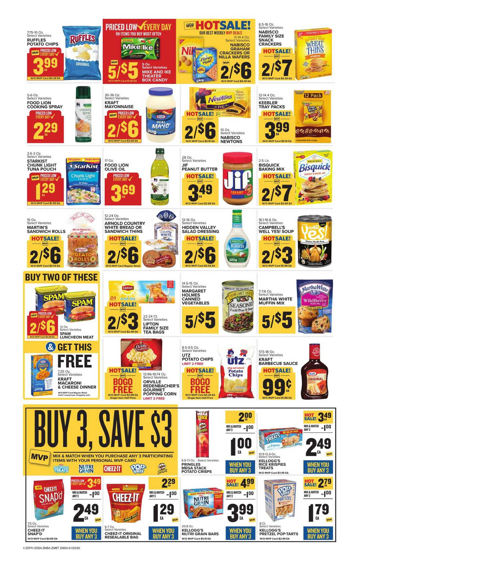 Food Lion - promo starting from 01/22/20 to 01/28/20 - page 4.
