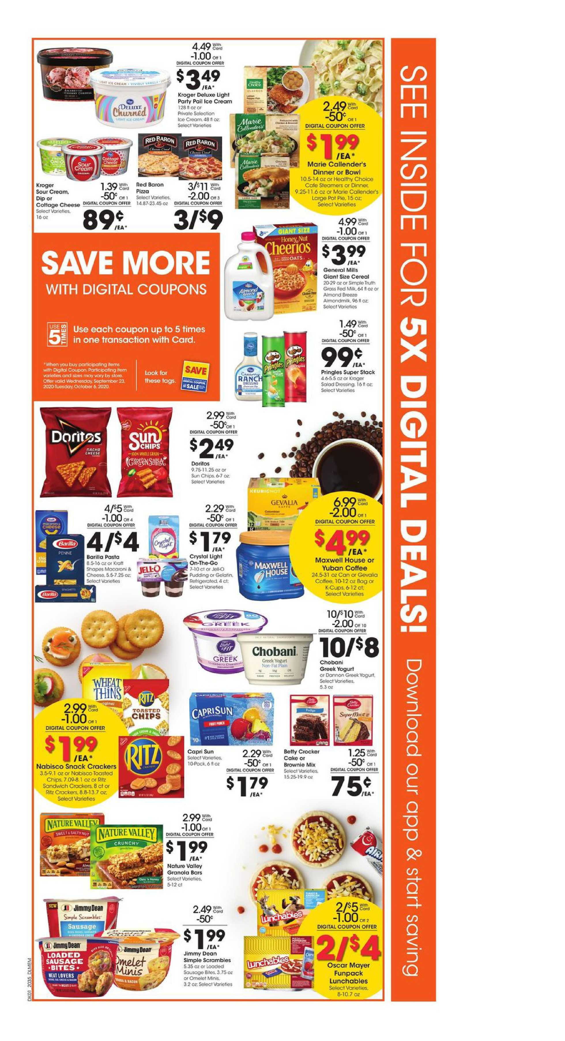 Kroger - deals are valid from 09/30/20 to 10/06/20 - page 2.