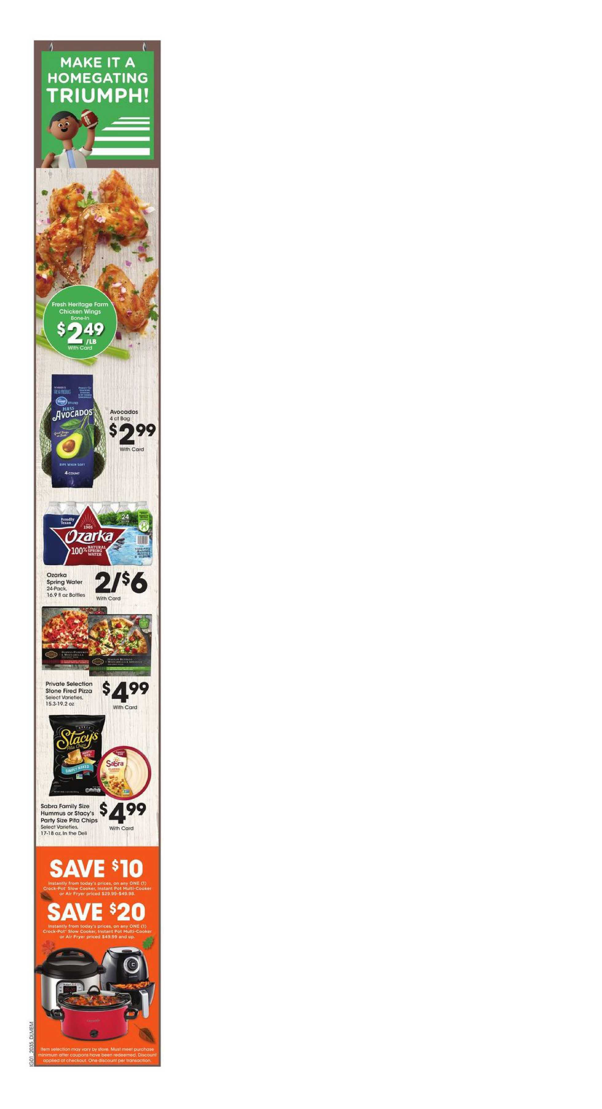Kroger - deals are valid from 09/30/20 to 10/06/20 - page 4.