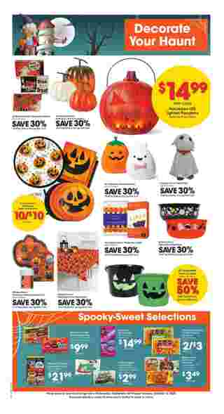 Kroger - deals are valid from 09/30/20 to 10/06/20 - page 8.