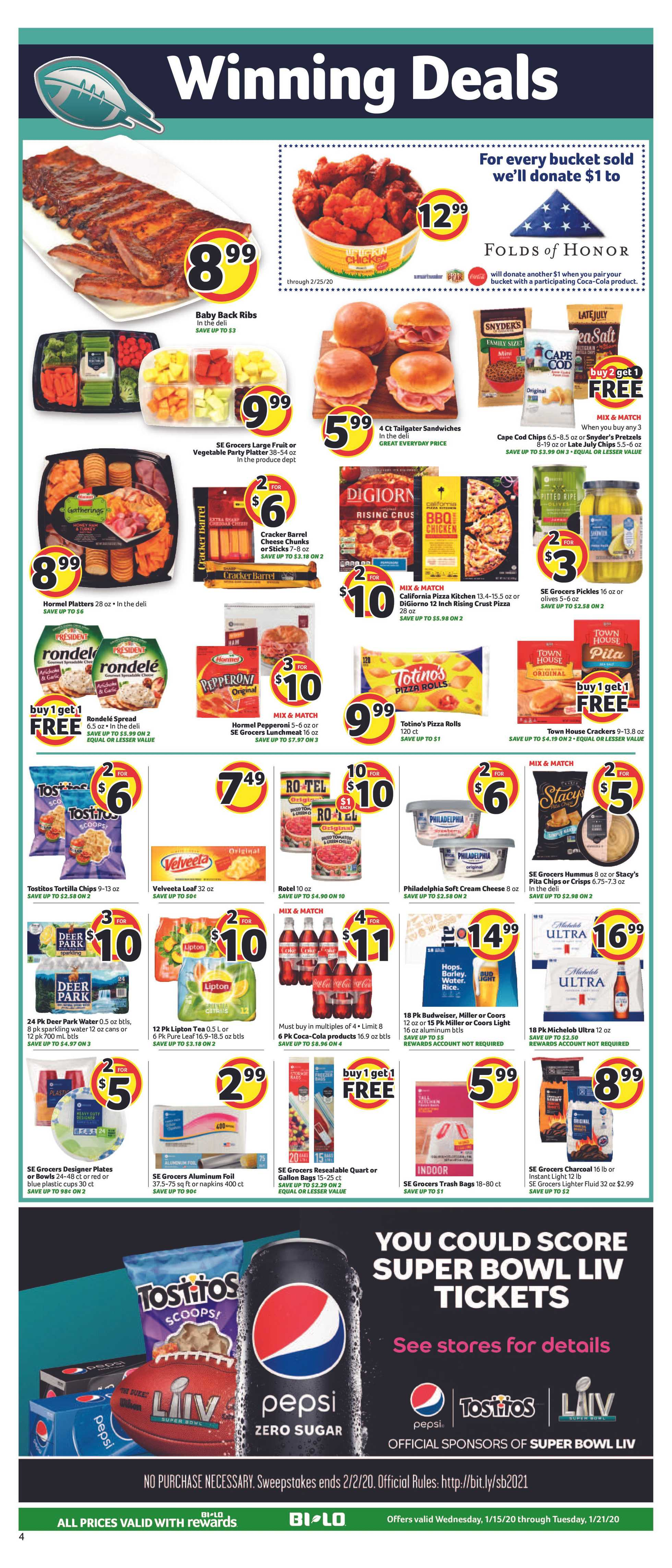 BILO - deals are valid from 01/15/20 to 01/21/20 - page 4.