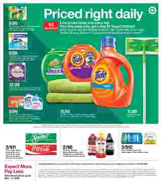 Target - deals are valid from 12/01/19 to 12/07/19 - page 46.