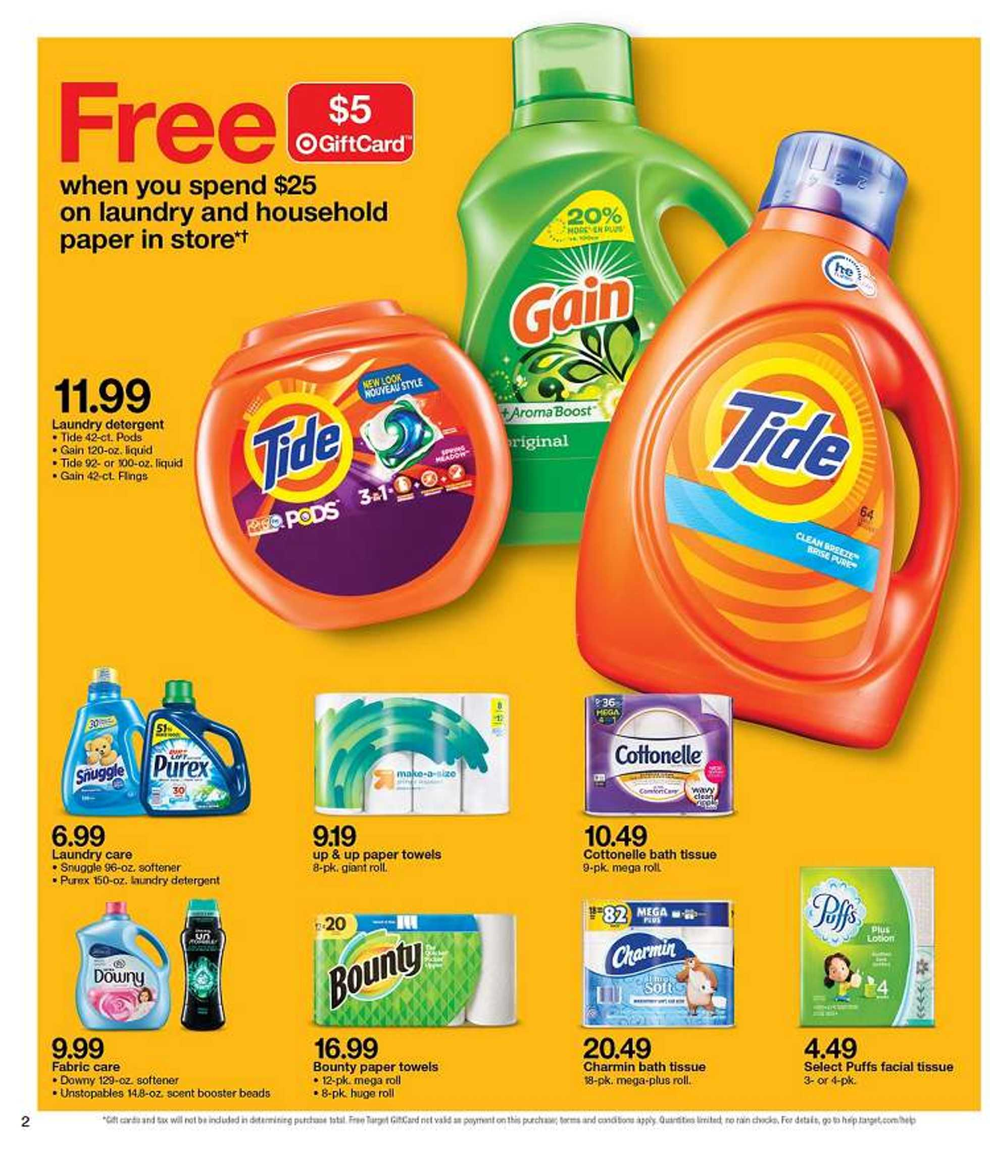 Target - deals are valid from 02/17/19 to 02/23/19 - page 2.