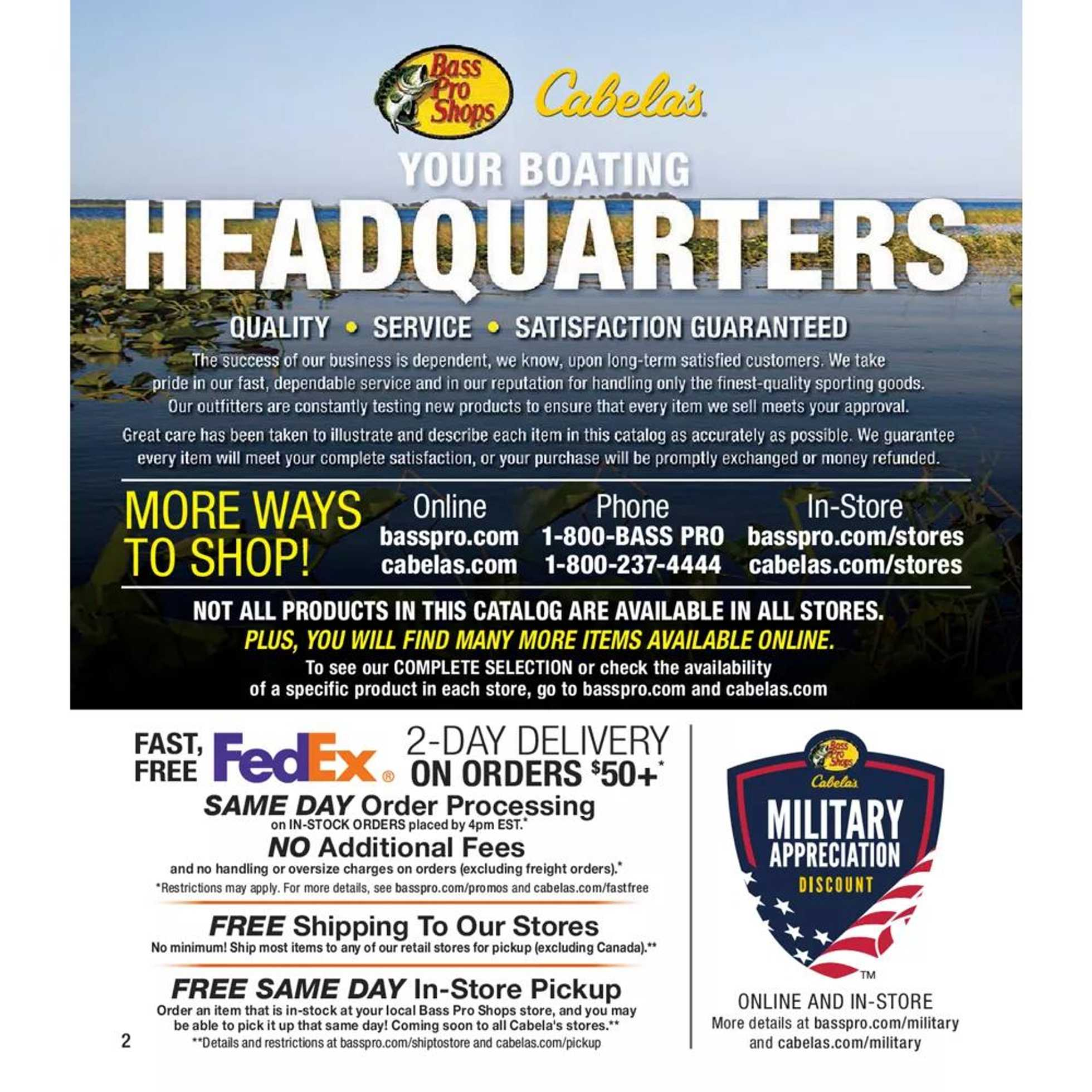 Cabela's - deals are valid from 07/01/20 to 12/26/20 - page 2.