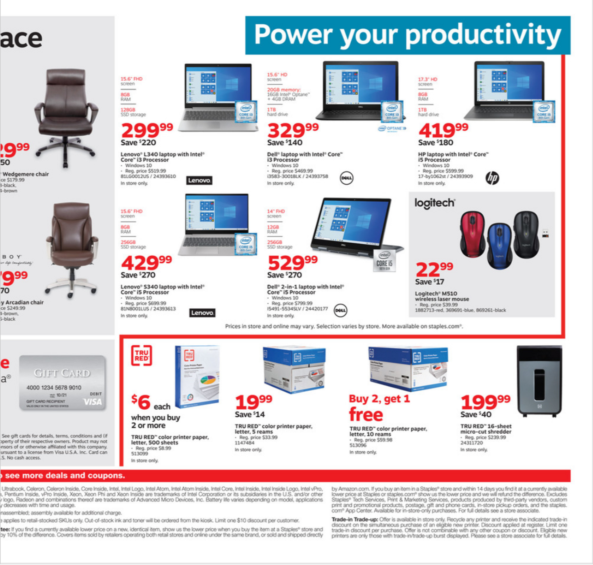 Staples - deals are valid from 01/12/20 to 01/18/20 - page 3.