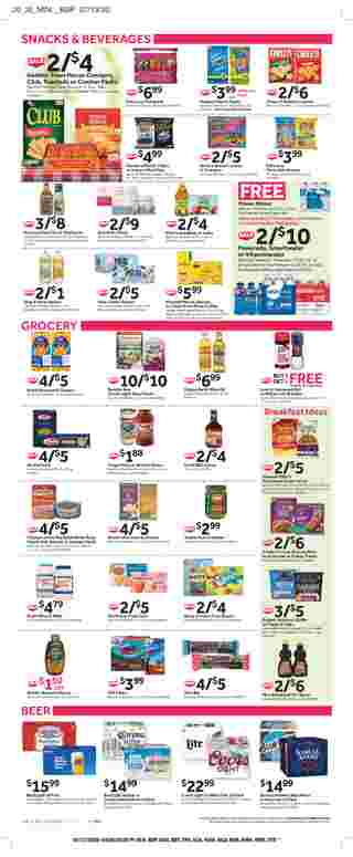Stop & Shop - deals are valid from 07/31/20 to 08/06/20 - page 7.