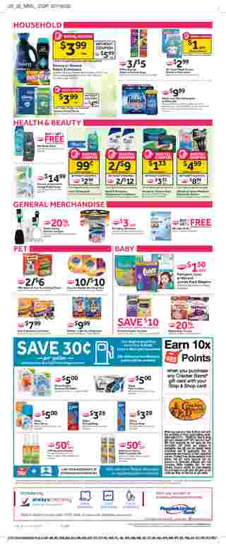 Stop & Shop - deals are valid from 07/31/20 to 08/06/20 - page 8.
