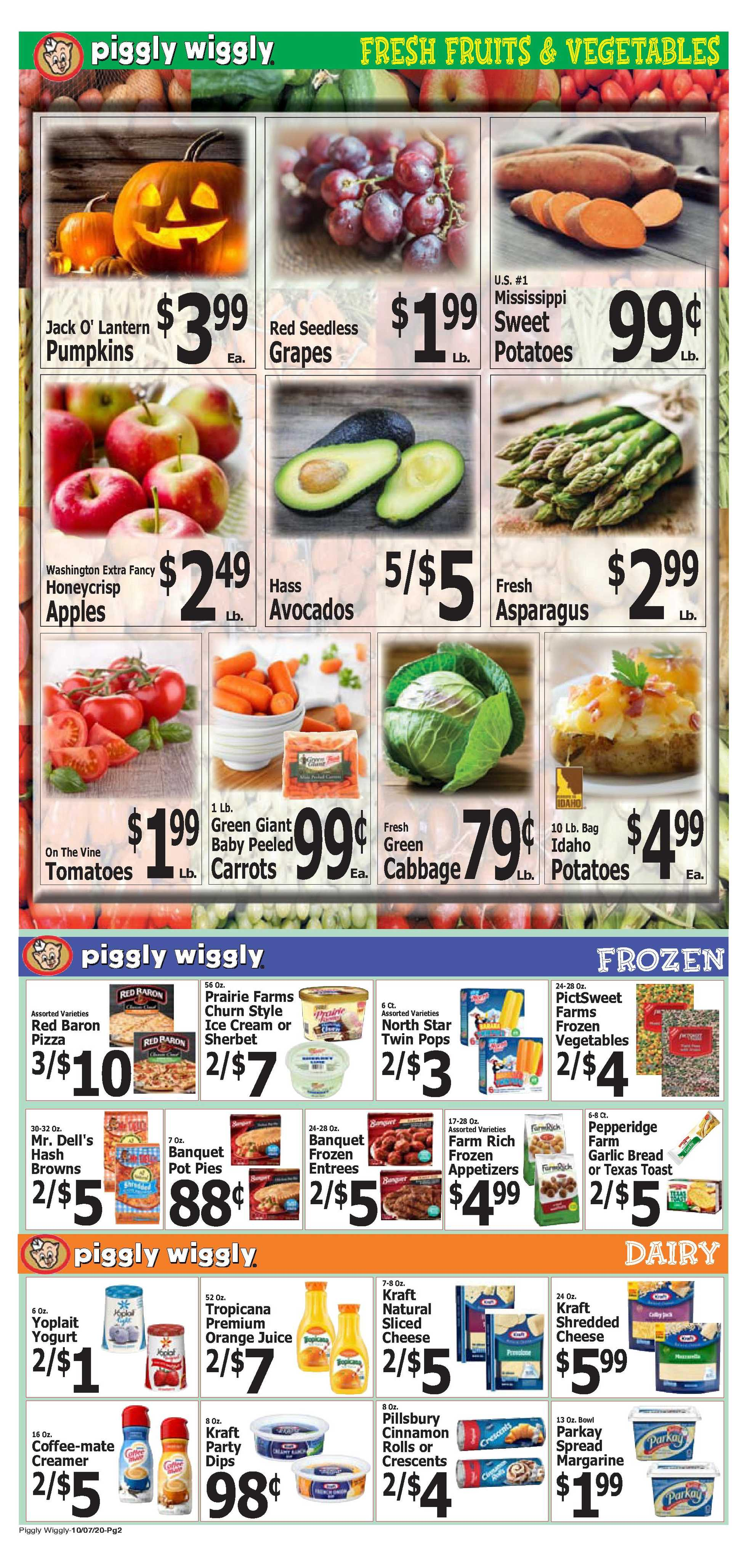 Piggly Wiggly - deals are valid from 10/07/20 to 10/13/20 - page 2.