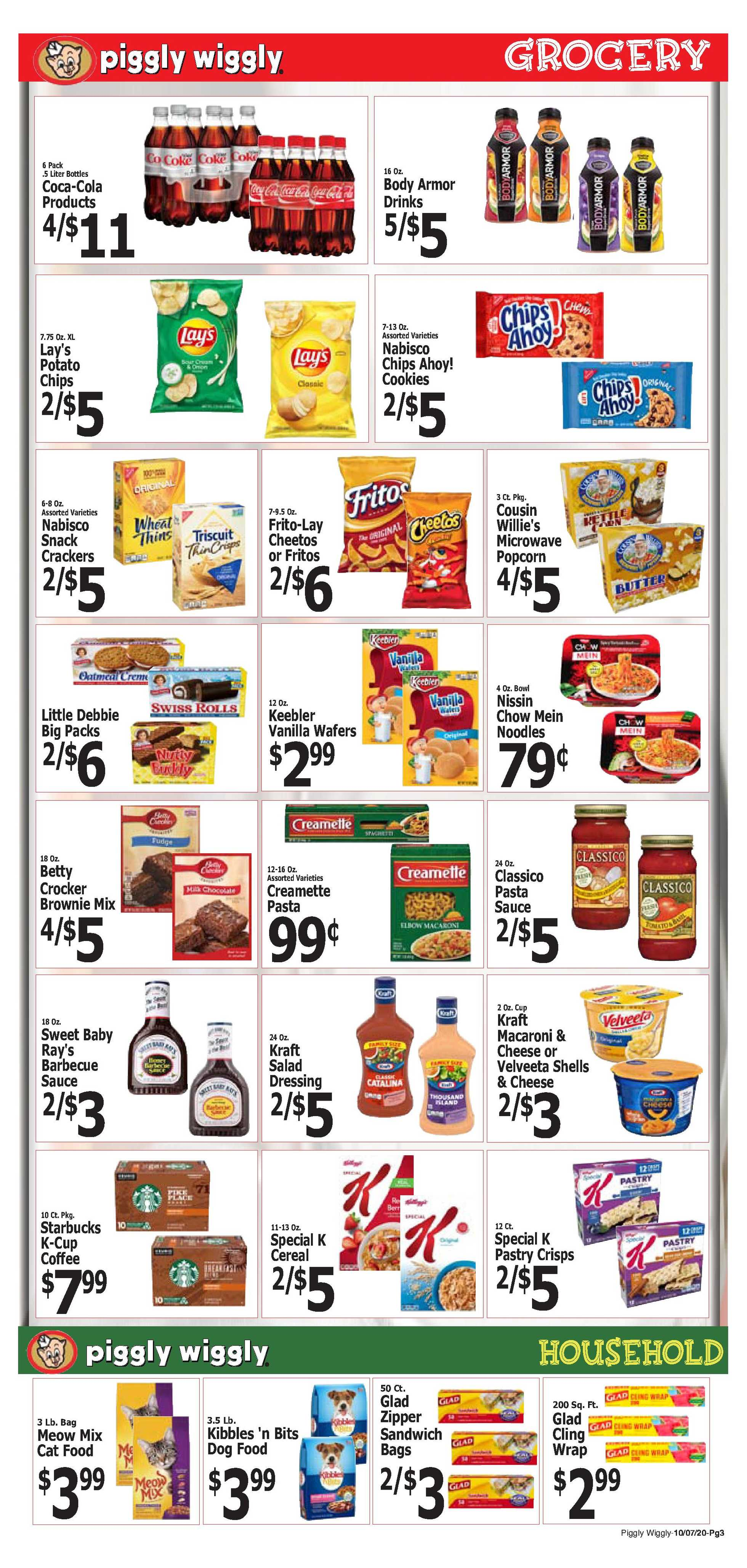 Piggly Wiggly - deals are valid from 10/07/20 to 10/13/20 - page 3.