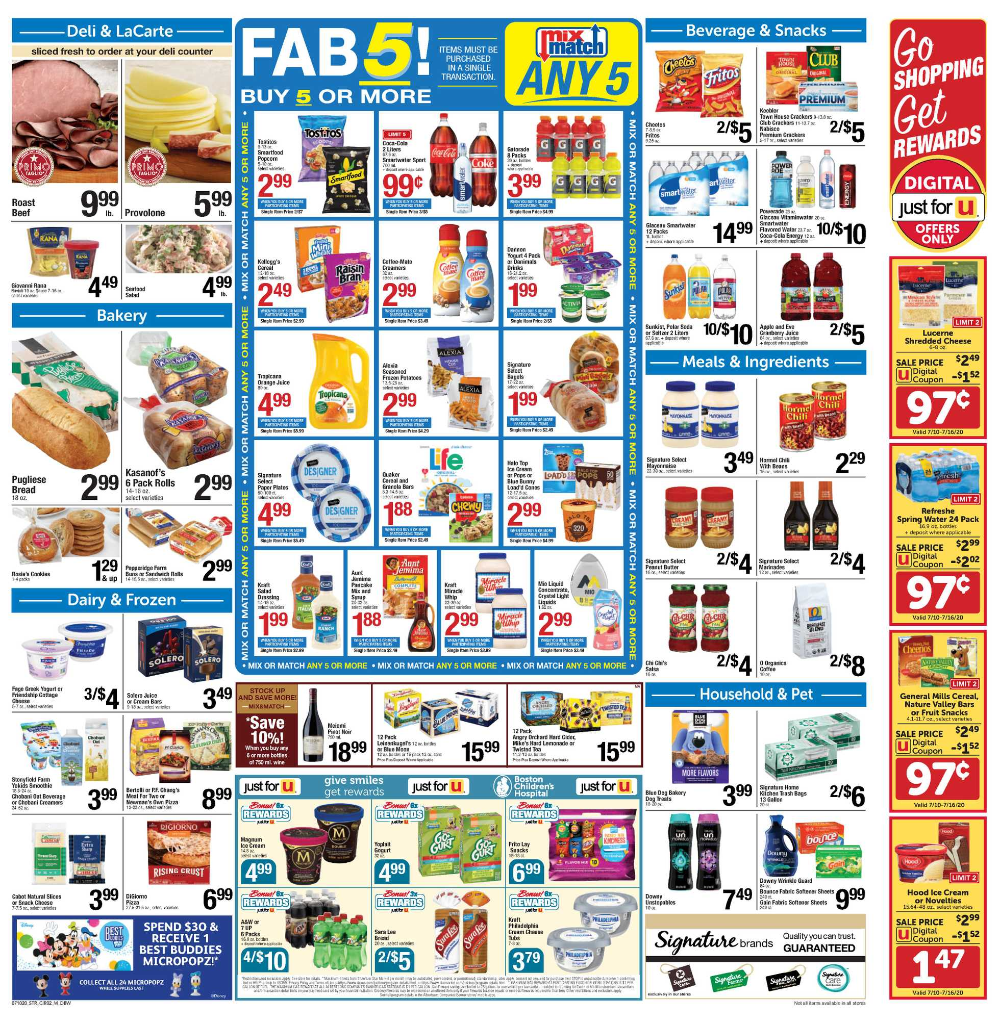 Star Market - deals are valid from 07/10/20 to 07/16/20 - page 2.