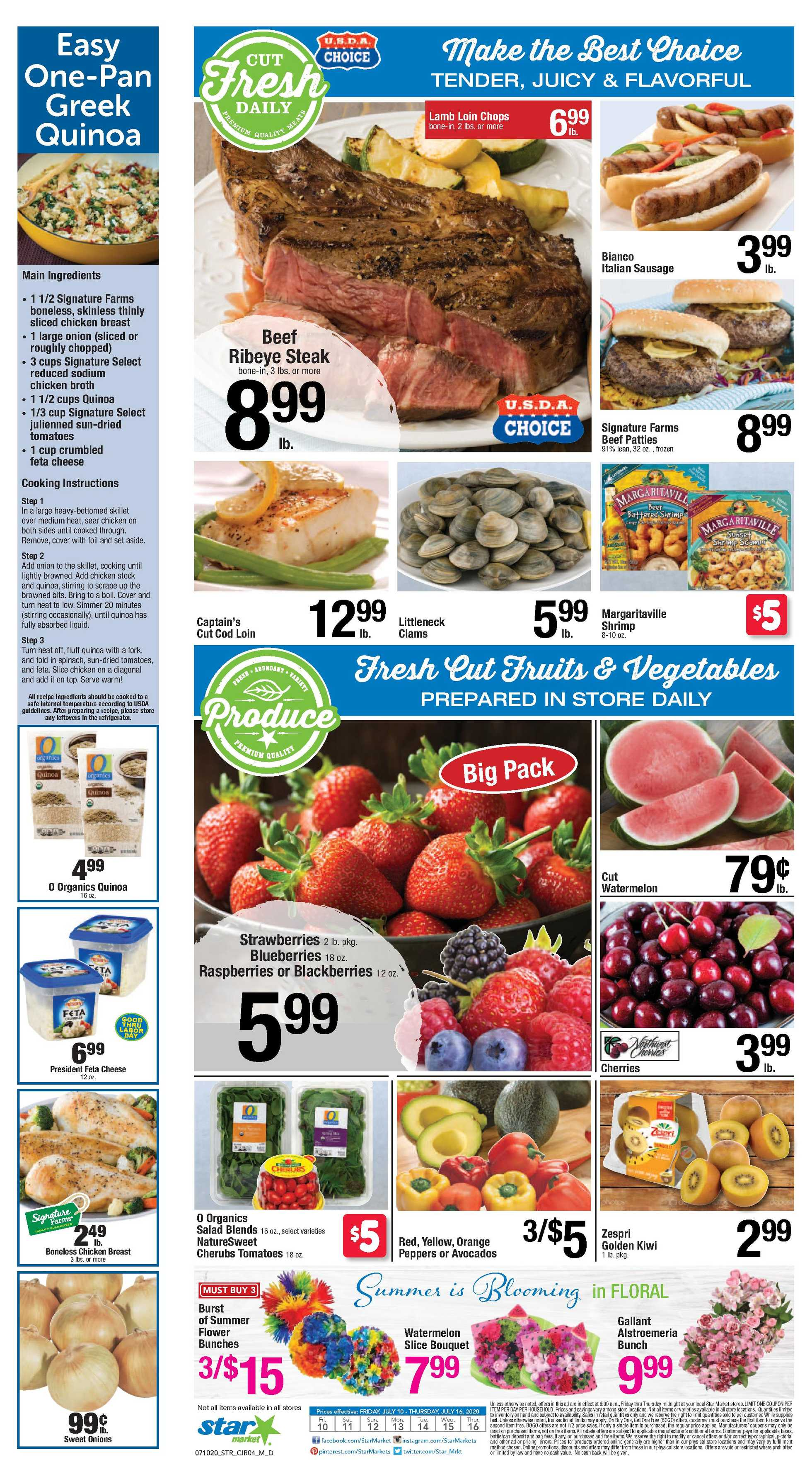 Star Market - deals are valid from 07/10/20 to 07/16/20 - page 3.