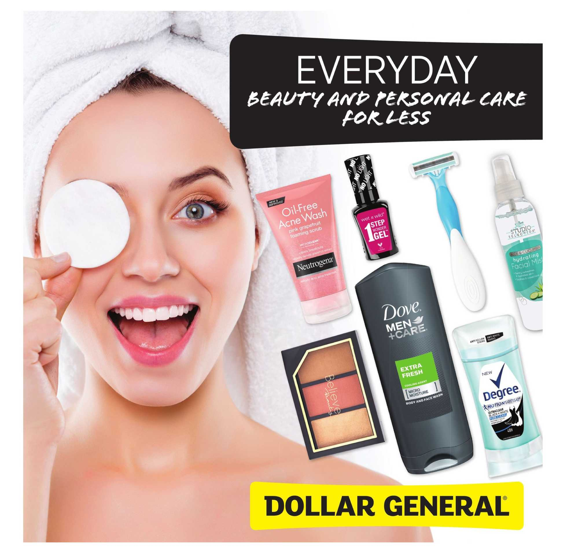 Dollar General - deals are valid from 08/14/19 to 09/02/19 - page 1.