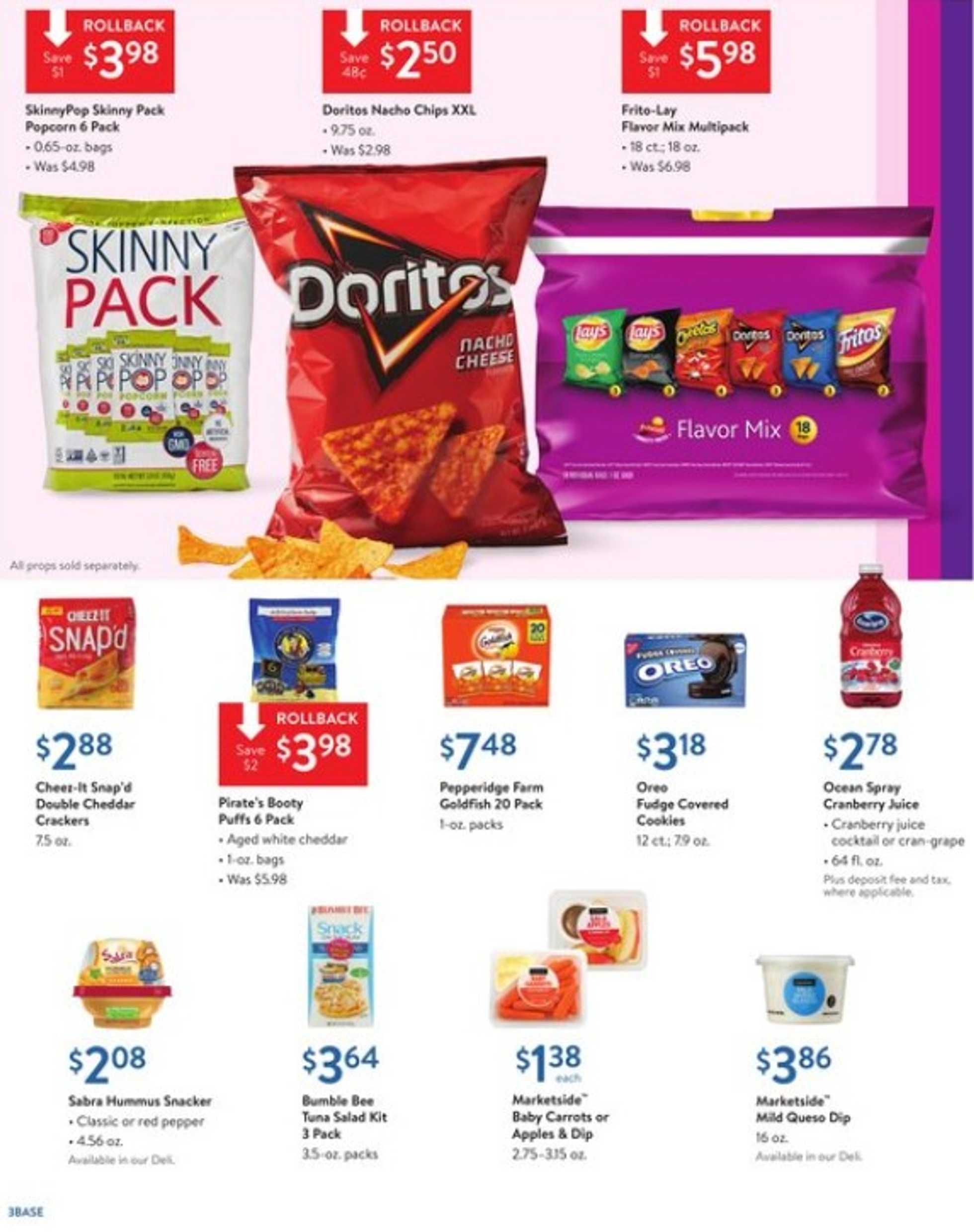 Walmart - deals are valid from 08/11/19 to 08/29/19 - page 3.
