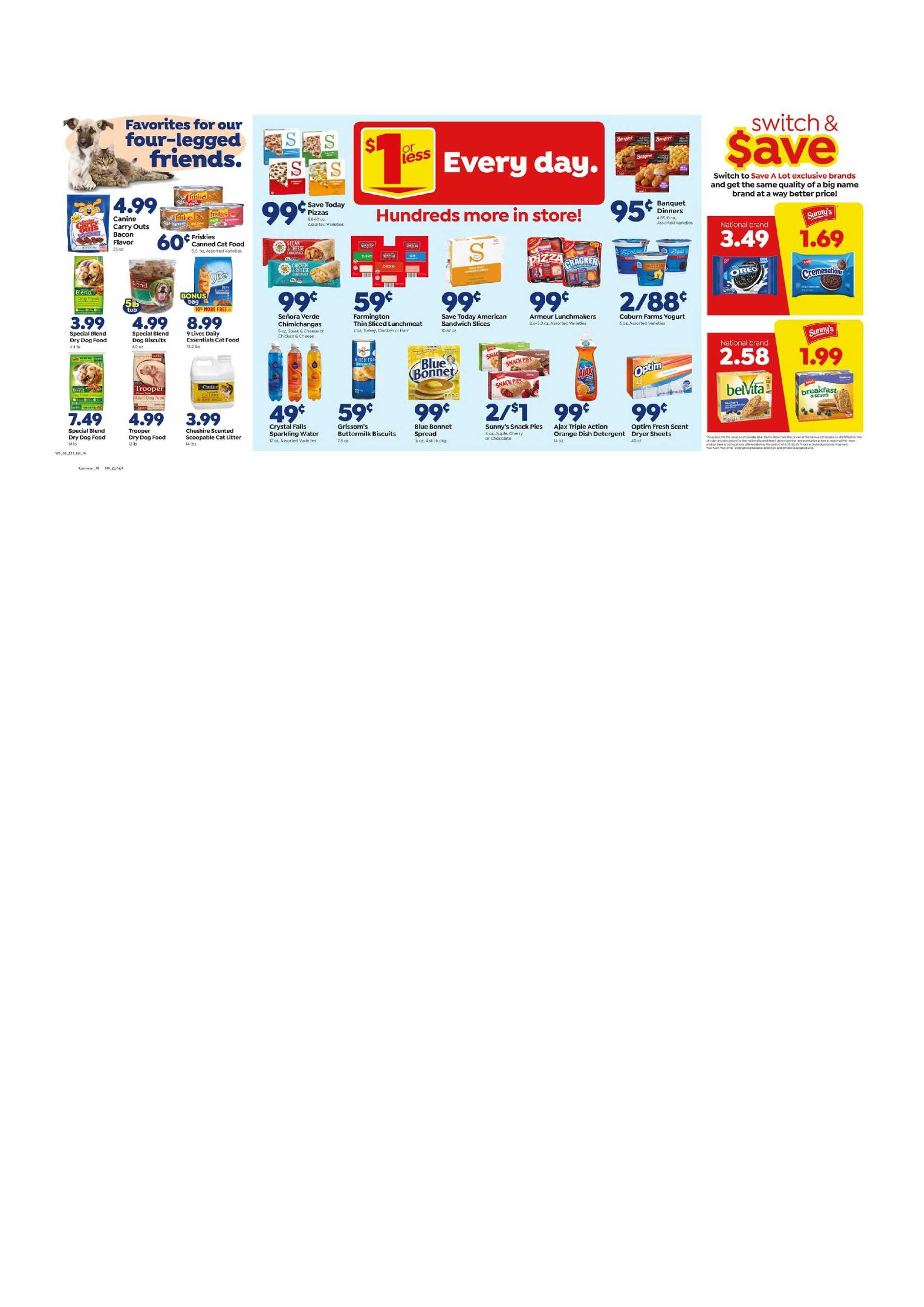 Save-A-Lot - deals are valid from 05/27/20 to 06/02/20 - page 2.