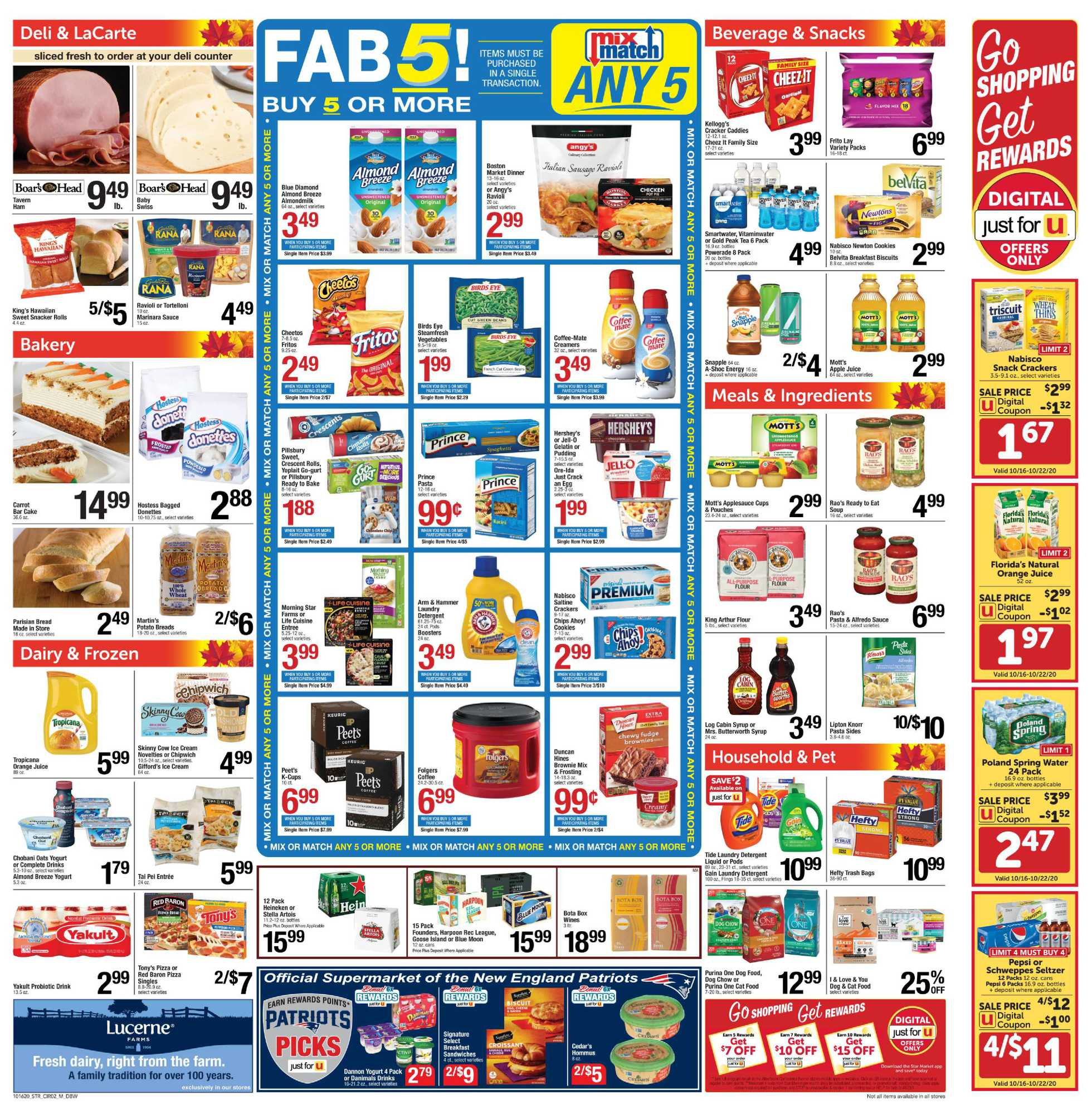 Star Market - deals are valid from 10/16/20 to 10/22/20 - page 2.