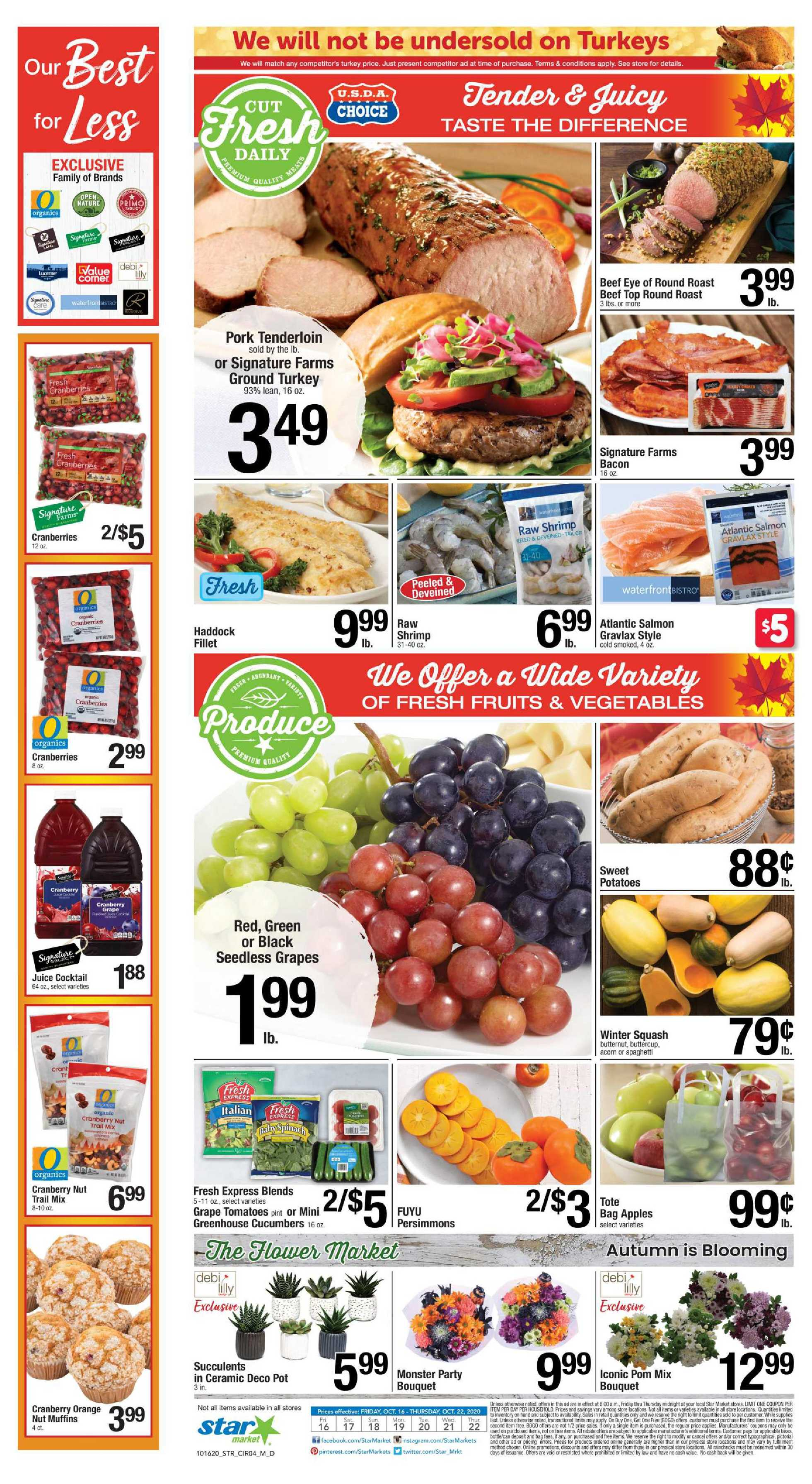 Star Market - deals are valid from 10/16/20 to 10/22/20 - page 3.