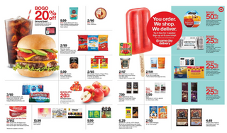 Target - deals are valid from 08/09/20 to 08/15/20 - page 20.