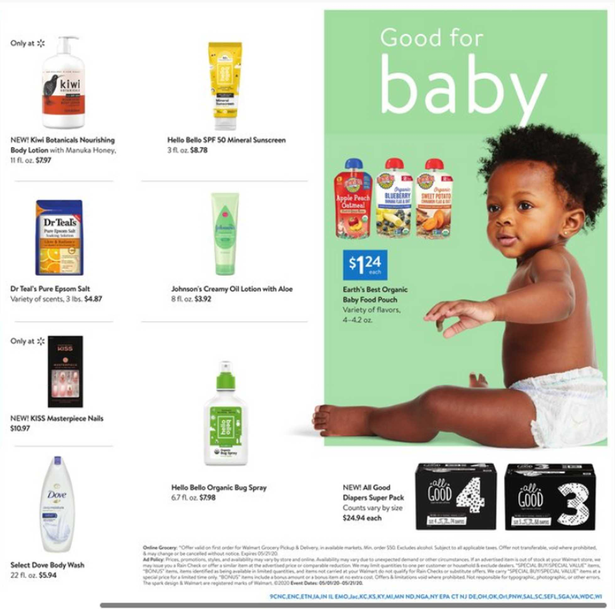 Walmart - deals are valid from 05/01/20 to 05/21/20 - page 4.