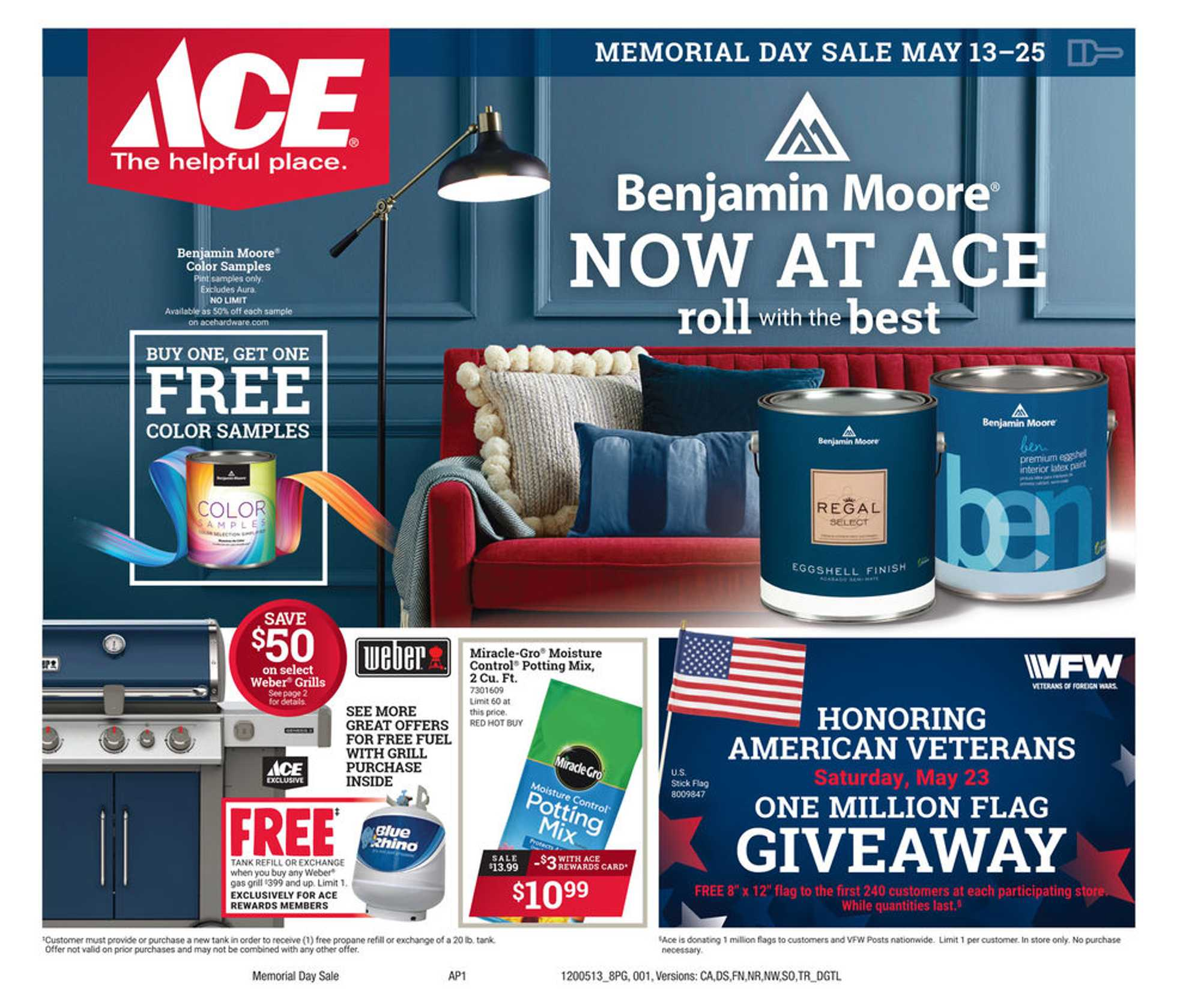 ACE Hardware - deals are valid from 05/13/20 to 05/25/20 - page 1.